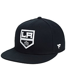 Authentic NHL Headwear Los Angeles Kings Basic Fan Snapback Cap