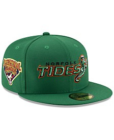New Era Norfolk Tides League Patch 59FIFTY-FITTED Cap