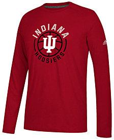 adidas Men's Indiana Hoosiers Center Court Long Sleeve T-Shirt