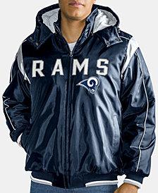 G-III Sports Men's Los Angeles Rams Hot Read Player Front Zip Jacket