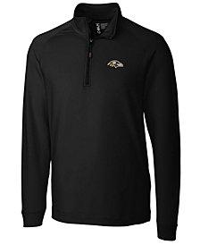 Cutter & Buck Men's Baltimore Ravens Jackson Half-Zip Pullover