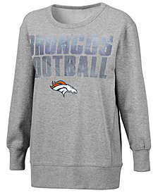 G-III Sports Women's Denver Broncos Crew Sweatshirt