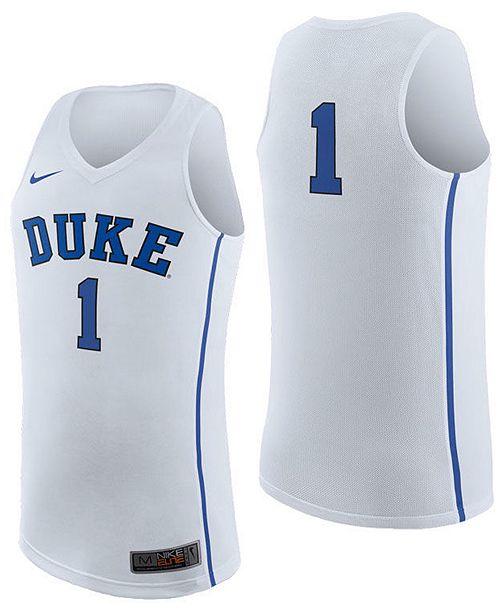 Nike Mens Duke Blue Devils Replica Basketball Jersey 2018 Sports