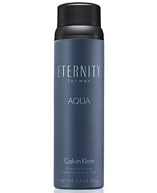 ETERNITY AQUA for Men Body Spray, 5.4 oz