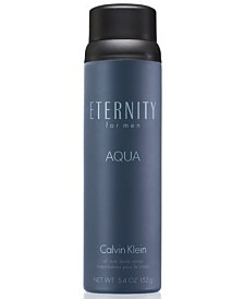 Calvin Klein ETERNITY AQUA for Men Body Spray, 5.4 oz