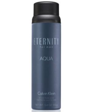Calvin Klein Eternity Aqua for men Body Spray, 5.4 oz