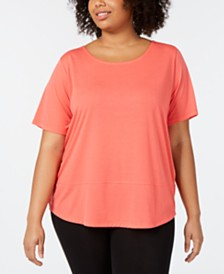 Columbia Plus Size Casual SS Shirt Active T-Shirt
