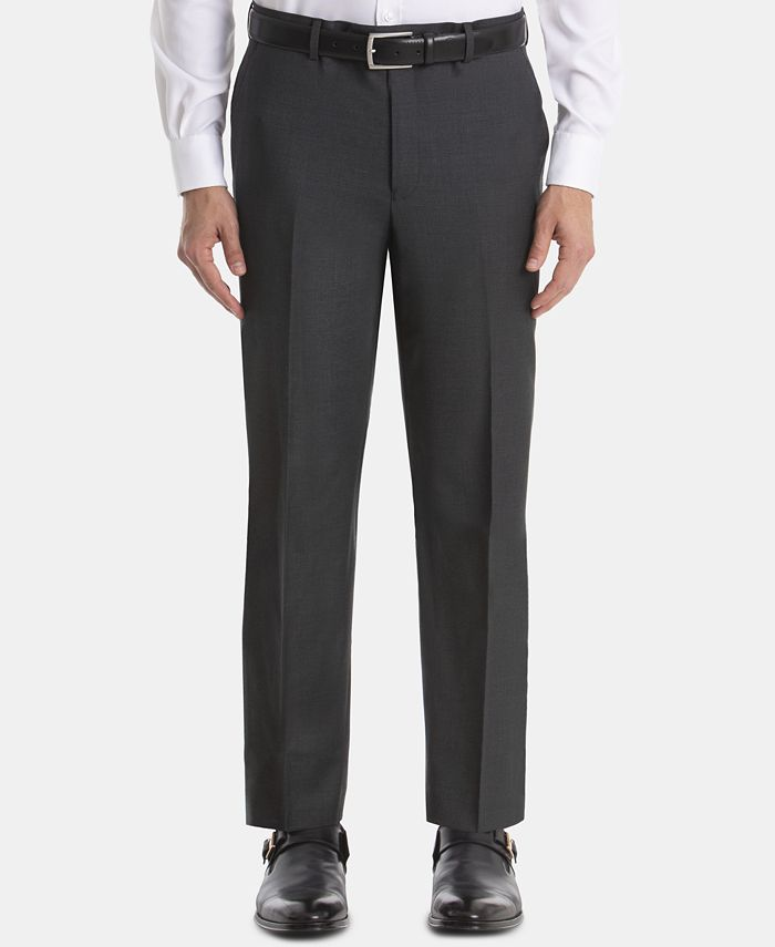 Lauren Ralph Lauren - Men's UltraFlex Classic-Fit Wool Pants