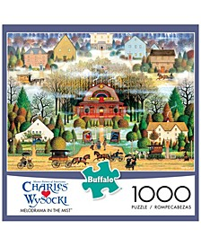 Charles Wysocki - Melodrama in the Mist- 1000 Pieces Puzzle