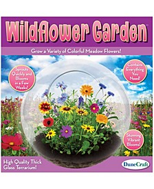 Glass Terrarium - Wildflower Garden
