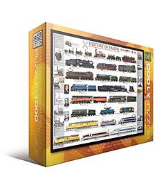 History of Trains - 1000 Piece Puzzle