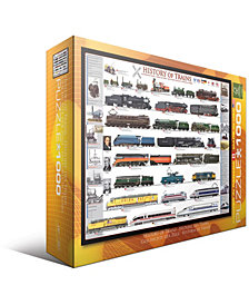 History of Trains - 1000 Piece