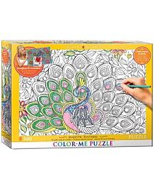 Color-Me Puzzle - Majestic Feathers- 300 Piece