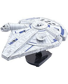 Metal Earth ICONX 3D Metal Model Kit - Star Wars Lando's Millennium Falcon