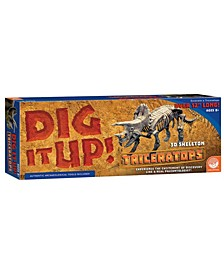 Dig It Up! - Dino Model- Triceratops
