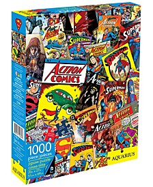 DC Comics - Superman Collage Jigsaw Puzzle- 1000 Pieces