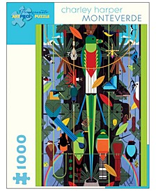 Charley Harper - Monteverde Jigsaw Puzzle- 1000 Pieces