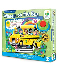 My First Sing-Along Puzzle - Wheels on the Bus- 12 Pieces