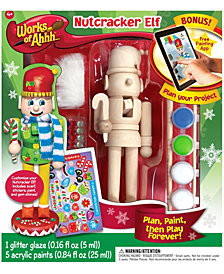 Works of Ahhh... Wood Painting Kit - Nutcracker Elf