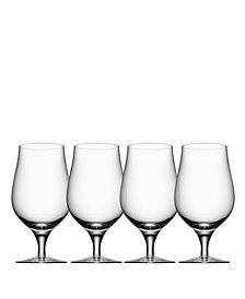 Orrefors Beer Taster Glasses, Set of 4