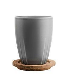 Kosta Boda Bruk 2-Pc. Mug Set with Lids