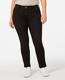 Tommy Hilfiger Plus Size Skinny Jeans, Created for Macy's