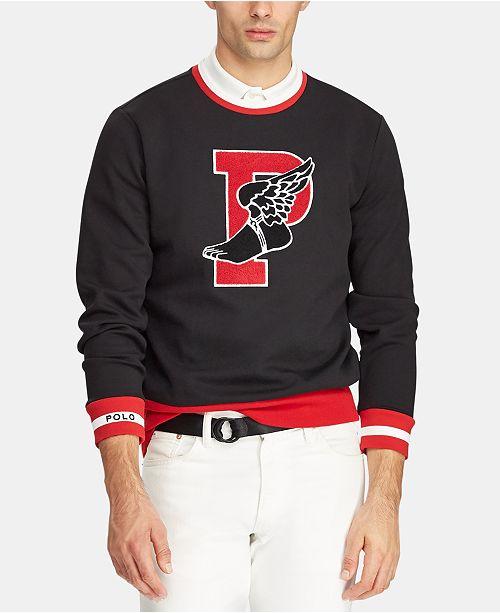 01d8d813 Polo Ralph Lauren Men's P-Wing Graphic Sweatshirt & Reviews ...