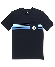 Element Men's Dawn Pocket Striped T-Shirt