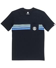 Element Men's Dawn Pocket Striped T-Shirt