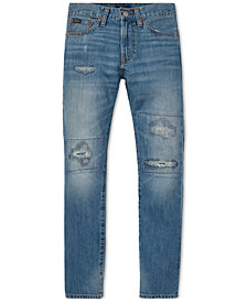 Polo Ralph Lauren Big Boys Sullivan Slim Distressed Cotton Jeans