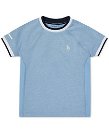 Polo Ralph Lauren Toddler Boys Soft-Touch Crewneck T-Shirt