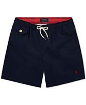 002ae18889 Polo Ralph Lauren Big Boys Traveler Twill Swim Trunks