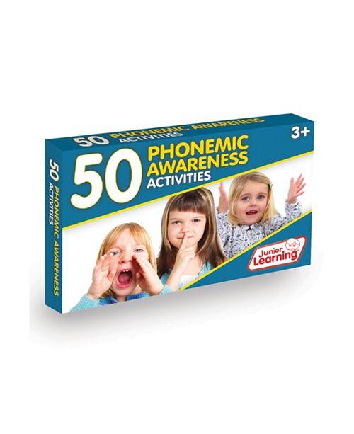 Junior Learning 50 Phonemic Awareness Activities Learning Set