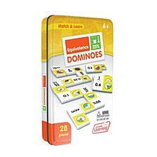 Equivalence Dominoes Match and Learn Educational Learning Game