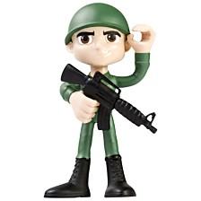 """NJ Croce ACTION BENDALBES 4"""" Soldier Action Figure"""