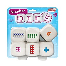 Number Dice Educational Learning Game