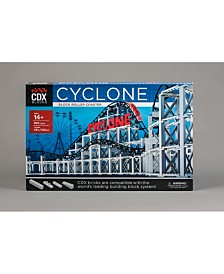 CDX Blocks Brick Construction Cyclone Roller Coaster Building Set