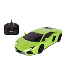 NKOK Luxe 1 is to 24 Scale Radio Controlled Lamborghini Aventador Coupe RC Colors Vary Orange Green