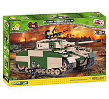 COBI Small Army World War II Panzer IV Ausf. F1 G H 500 Tank Piece Construction Blocks Building Kit