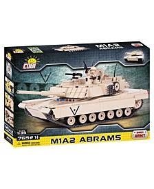 Small Army M1A2 Abrams Tank 765 Piece Construction Blocks Building Kit