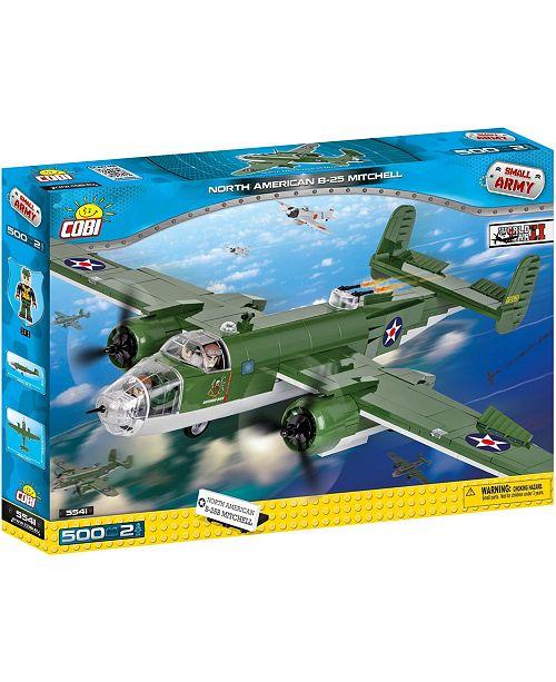 COBI Small Army World War II B25 Mitchell Bomber Plane 500 Piece Construction Blocks Building Kit