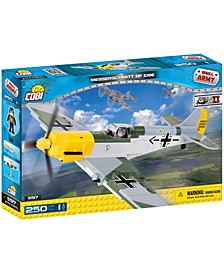 Small Army World War II Messerschmitt BF 109E Airplane 250 Piece Construction Blocks Building Kit