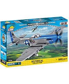 Small Army World War II North American P51D Mustang Airpland 265 Piece Construction Blocks Building Kit