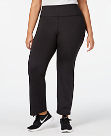Nike Plus Size High-Rise Gym Pants