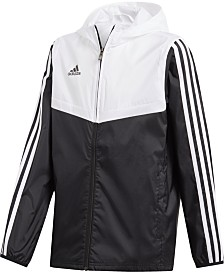 adidas Originals Big Boys Hooded Tiro Windbreaker Jacket