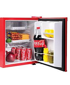 Nostalgia Coca-Cola 1.7-Cubic Foot Refrigerator