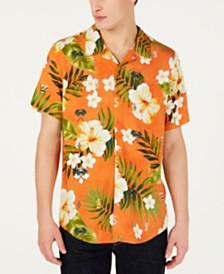 J Balvin X  GUESS Men's  Tropical Shirt