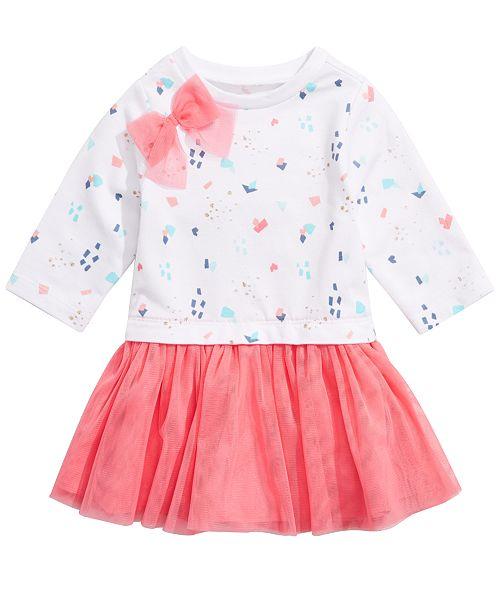 56aec0b23ff7 First Impressions Baby Girls Festive-Print Tutu Dress
