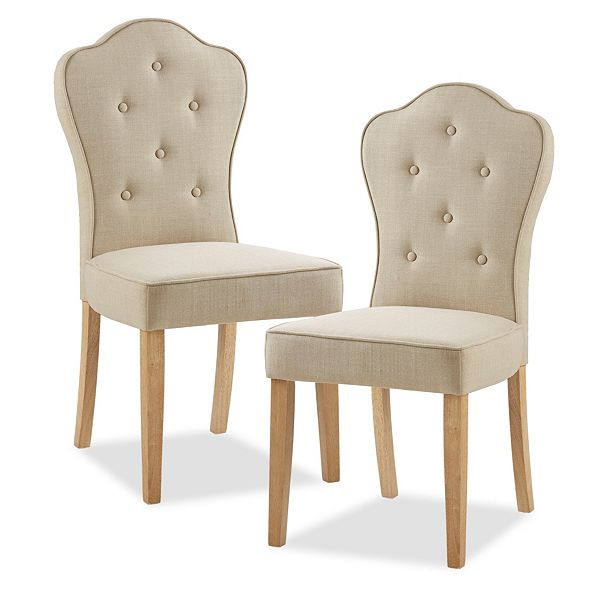 Furniture Lisa Dining Chairs, Set of 2
