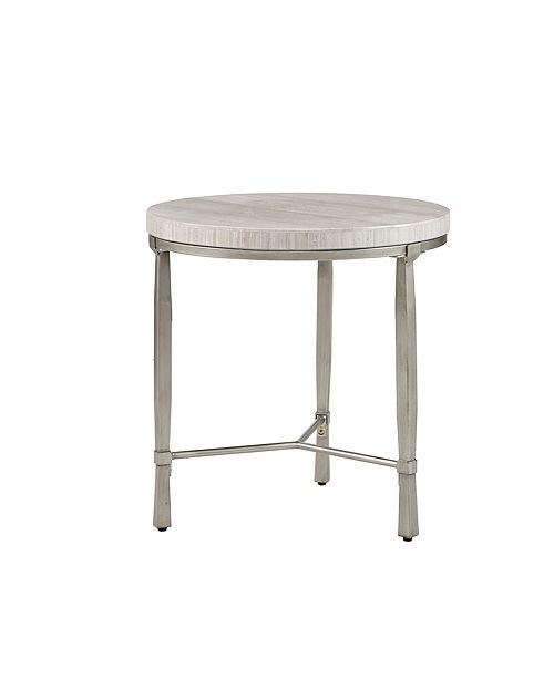 Furniture Reese Round End Table